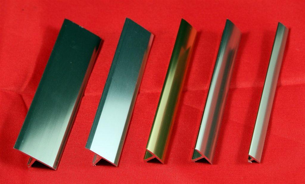 Nẹp nhôm và các hợp kim nhôm được sử dụng phổ biến nhất