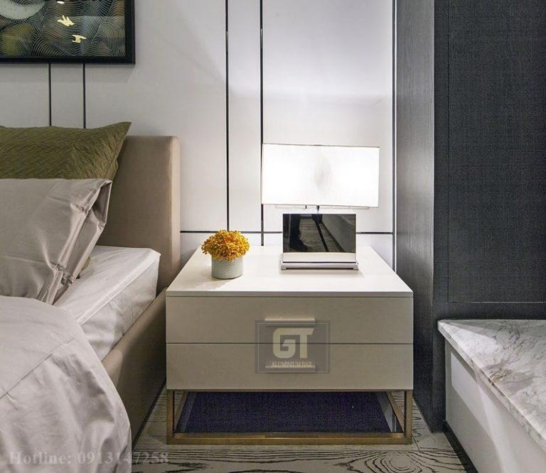 ứng dụng nẹp inox trong trang trí nội thất